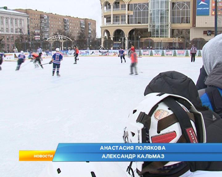 Городской  чемпионат по хоккею