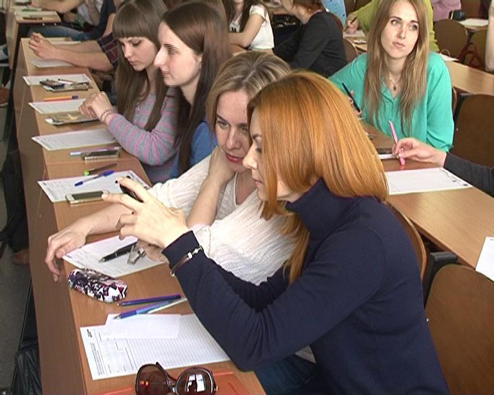 Курск присоединился к написанию Тотального диктанта