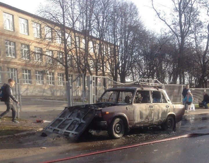 Пожар у курской школы. Завуч среагировала оперативно