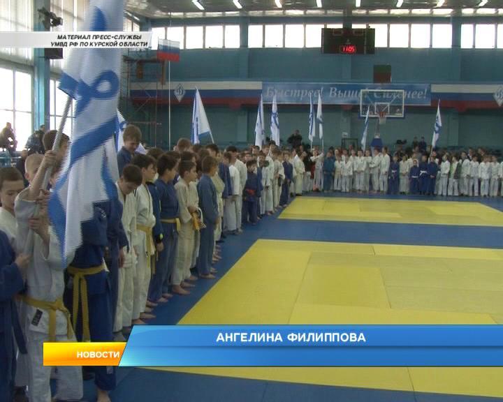 В Курске юные дзюдоисты боролись за медали