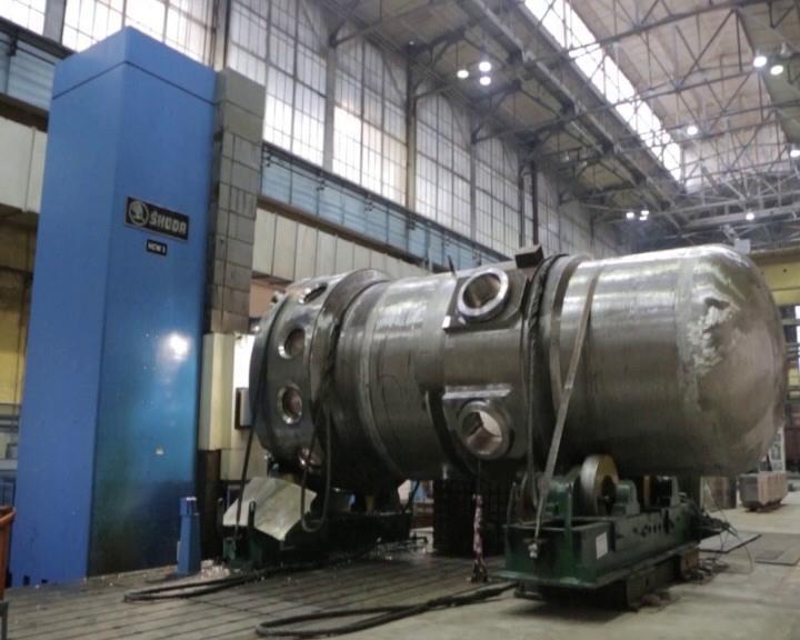 Росатом завершает сборку корпуса второго реактора для  ледокола «Сибирь»