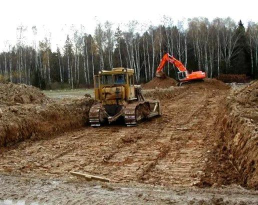 В Курской области пытались снять с земли слой чернозёма