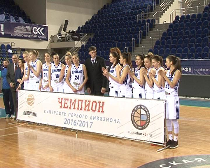 Баскетбольная команда Динамо-Фарм стала чемпионом Суперлиги-1