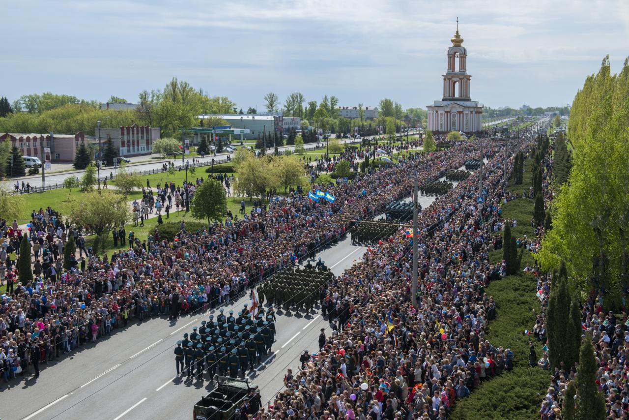 Как перекроют движение в Курске на репетициях парада?