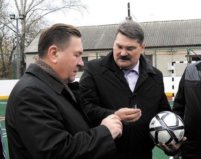 Губернатор Курской области отправил председателя спорткомитета в Конышевку