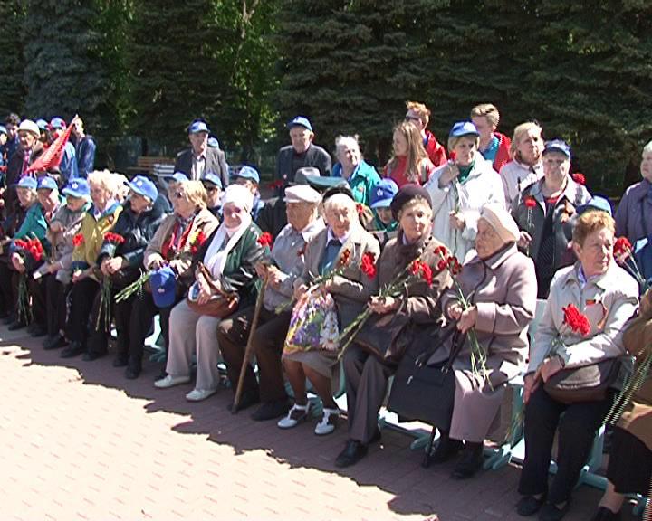 В Курск прибыли ветераны блокадного Ленинграда