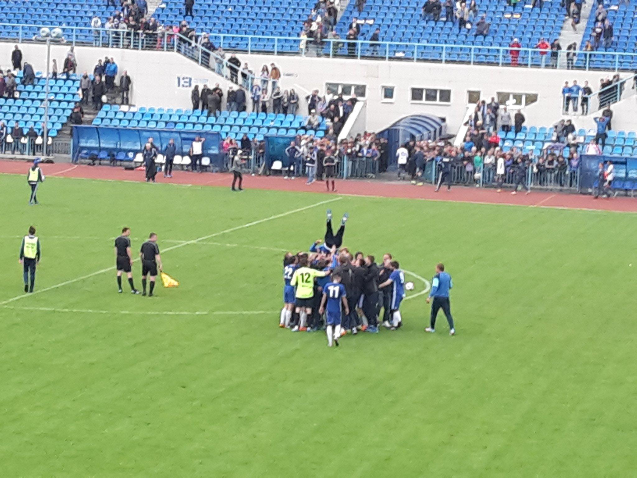 Курский Авангард вышел в Первый футбольный дивизион