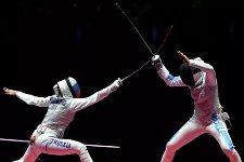 Курские рапиристы Дериглазова и Жеребченко завоевали медали в серии Гран-при в Шанхае