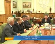 Губернатор Курской области встретился с начальником московской железной дороги