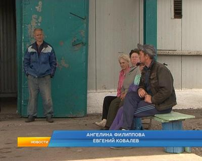 Во Льговском районе бастуют рабочие совхоза