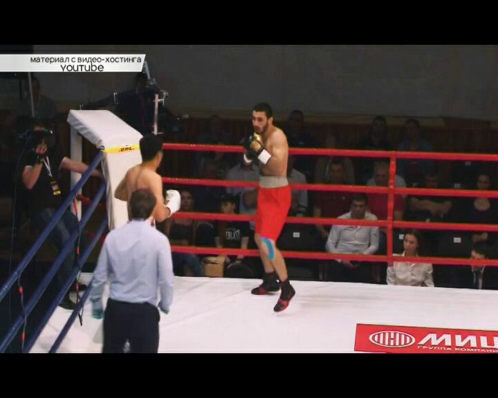 Курянин Орхан Гаджиев провел второй бой на профессиональной арене