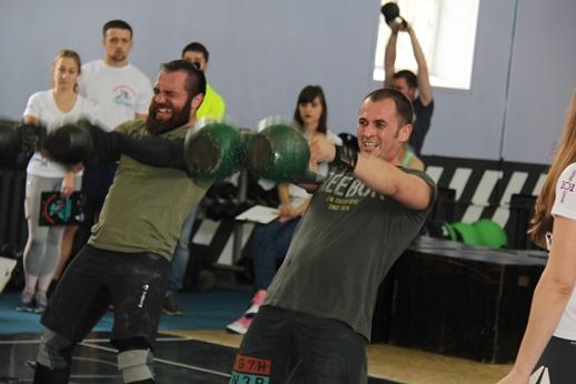 В Курске прошёл чемпионат по кроссфиту среди спортсменов ЦФО