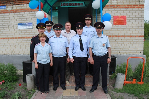 В селе Черновец Пристенского района заработал участковый пункт полиции