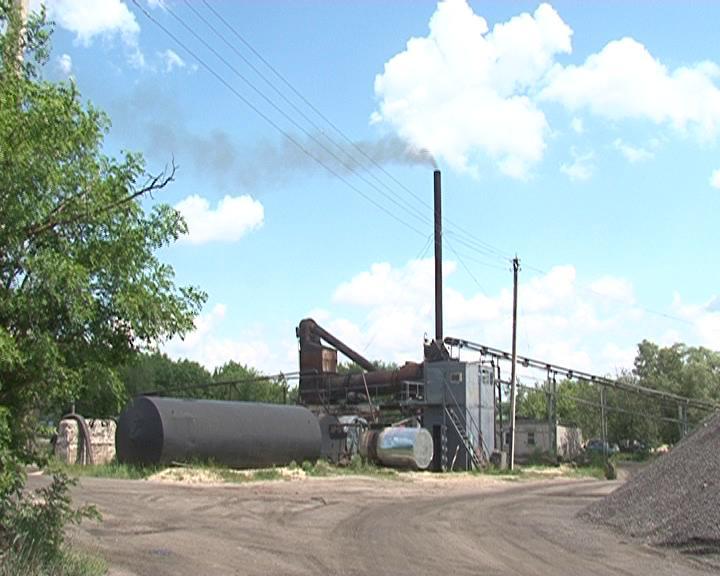 В поселке Коренево местные жители жалуются на асфальтовый завод