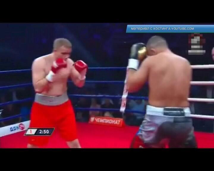Курский боксер Андрей Афонин остался доволен 3-м профессиональным боем