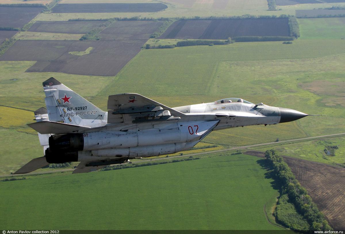 Курские истребители Миг-29 подняты по тревоге
