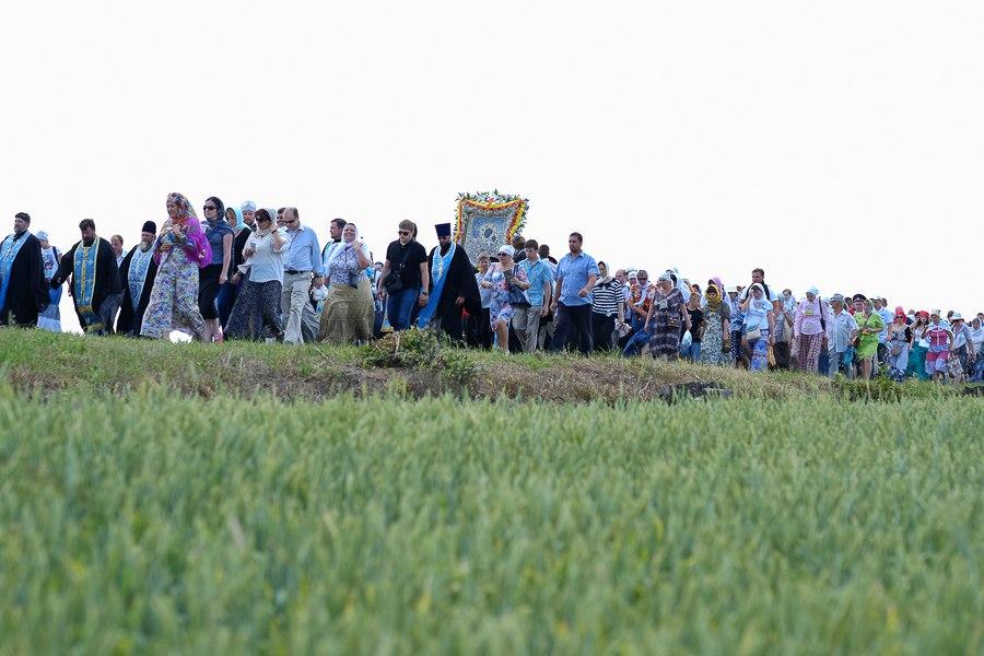 Участники крестного хода с иконой Пряжевская хотят вернуть исторический маршрут
