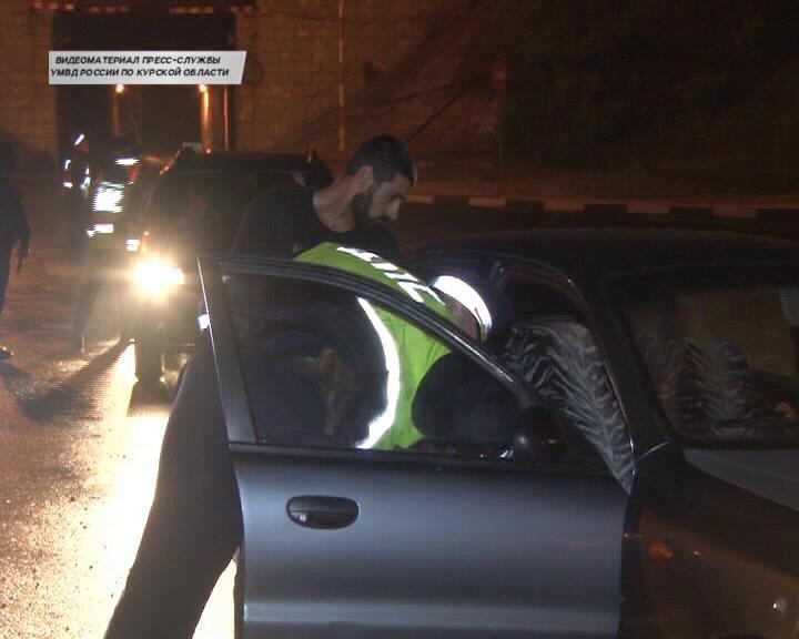 В Курске ловили нетрезвых водителей