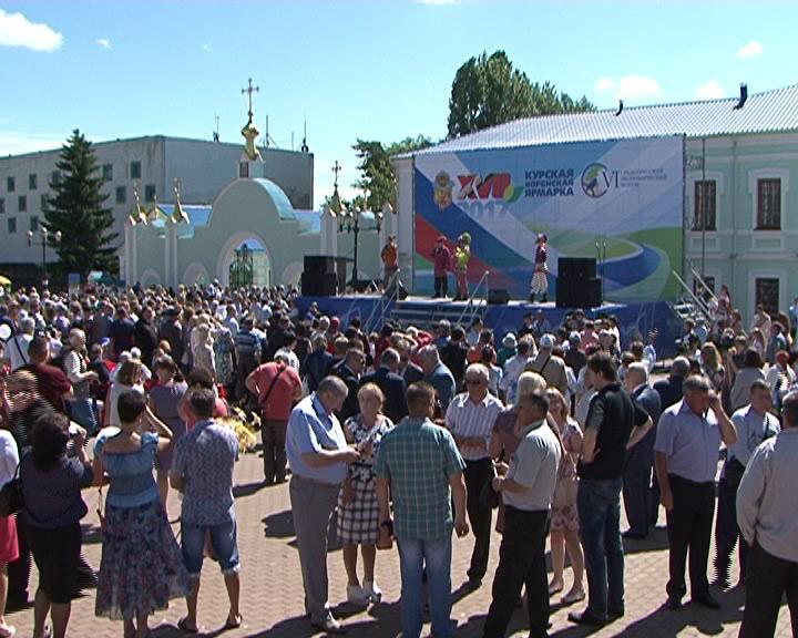 Курскую коренскую ярмарку в этом году посетили свыше 10 тысяч гостей