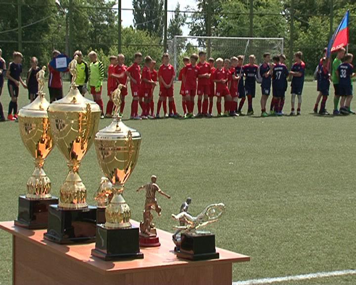 В Курске стартовало первенство Черноземья по детскому футболу