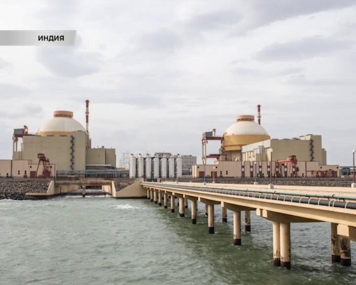 Корпорация Росатом построить в Индии еще два энергоблока