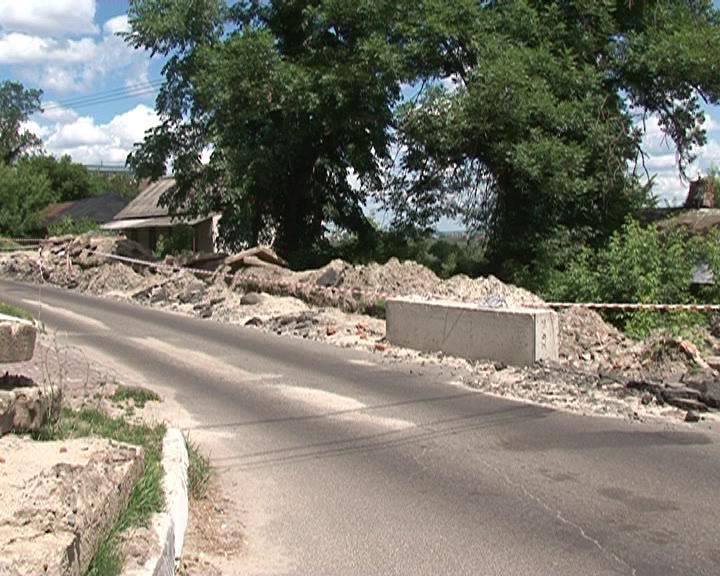 В центральной части Курска коммунальные аварии не редкость
