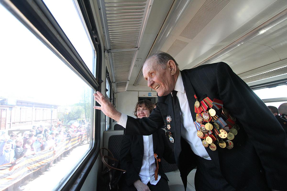 Поезд памяти тронется в путь по легендарным местам сражений