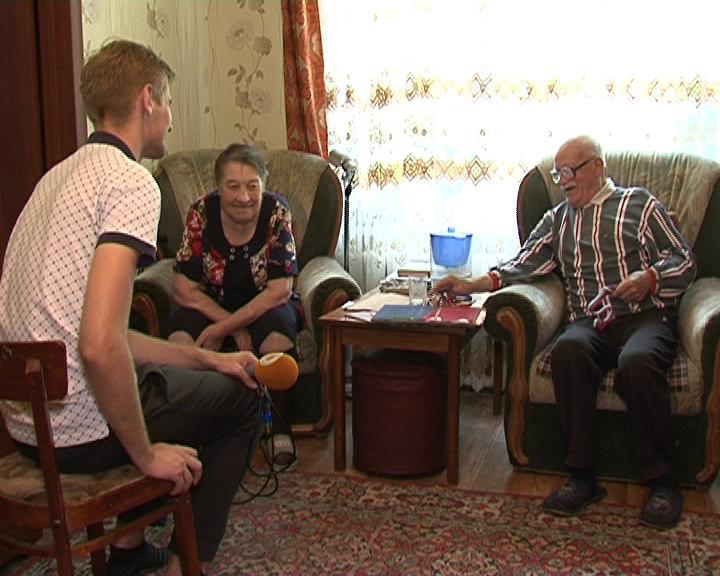 Супруги Костюченко отмечают 70 лет совместной жизни