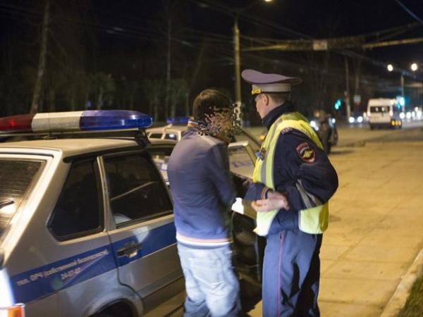 В Курске ездили 37 пьяных водителей