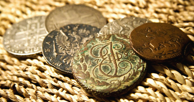 Через Курскую область пытались незаконно перевести исторические монеты