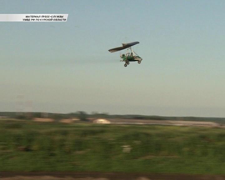 В Курской области самолёты уничтожили посадку конопли