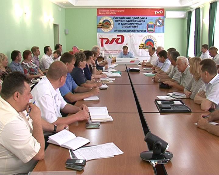 Курский железнодорожный узел один из лучших на Московской ж/д