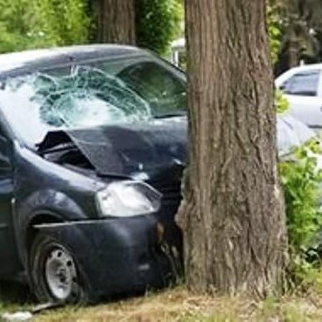 В Курске водитель врезался в дерево и скончался на месте