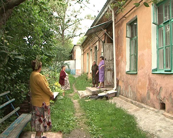 Второй год в Курске пытаются реанимировать дом, построенный еще в 1917 году