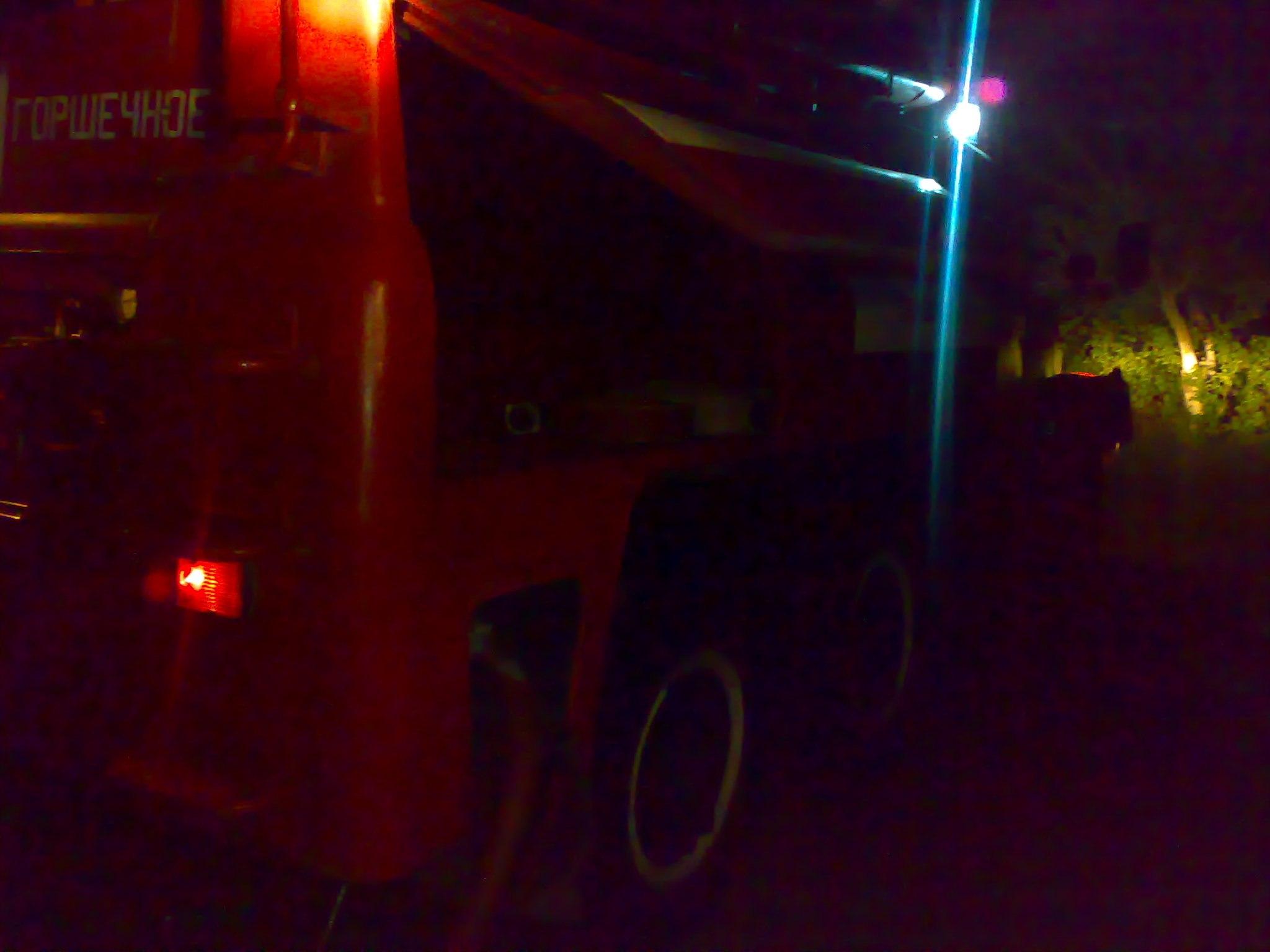 Ночной пожар в Курской области: причины не установлены