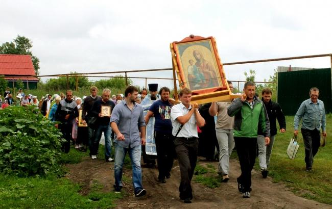 Завтра в Курской области пройдет Крестный ход с чудотворным образом Божией Матери Троеручица