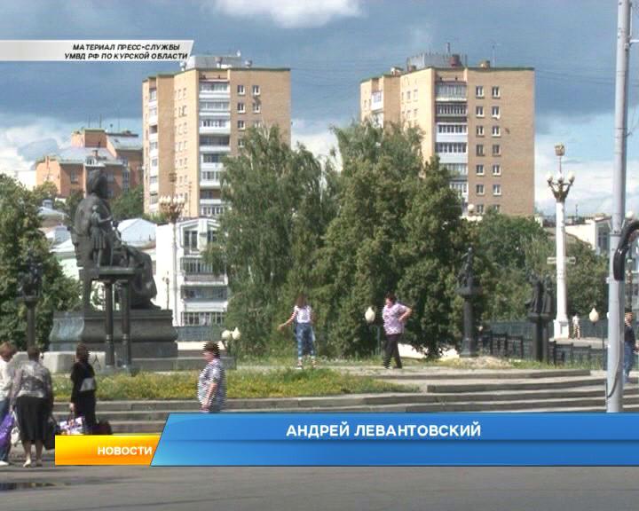 В Курской области полицейские задержали гастролера из Москвы
