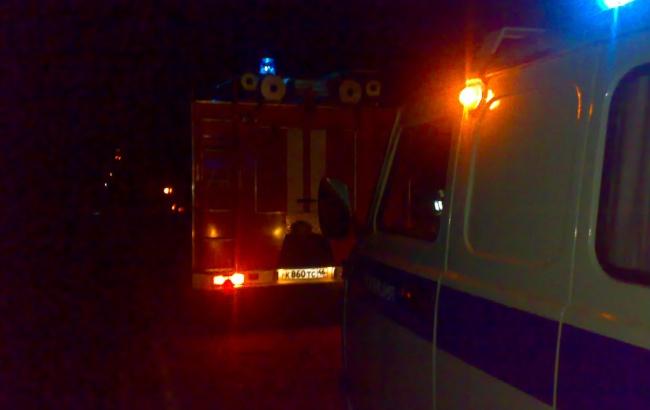 Ночной пожар в Курской области: сгорели гараж и пристройка