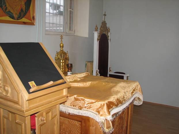 В следственном изоляторе Курска реконструируют молельную комнату