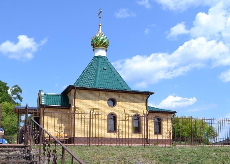 В Курской области освятили новый храм