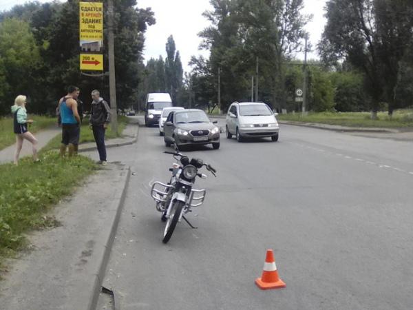 В Курске в ДТП пострадал 16-летний мотоциклист