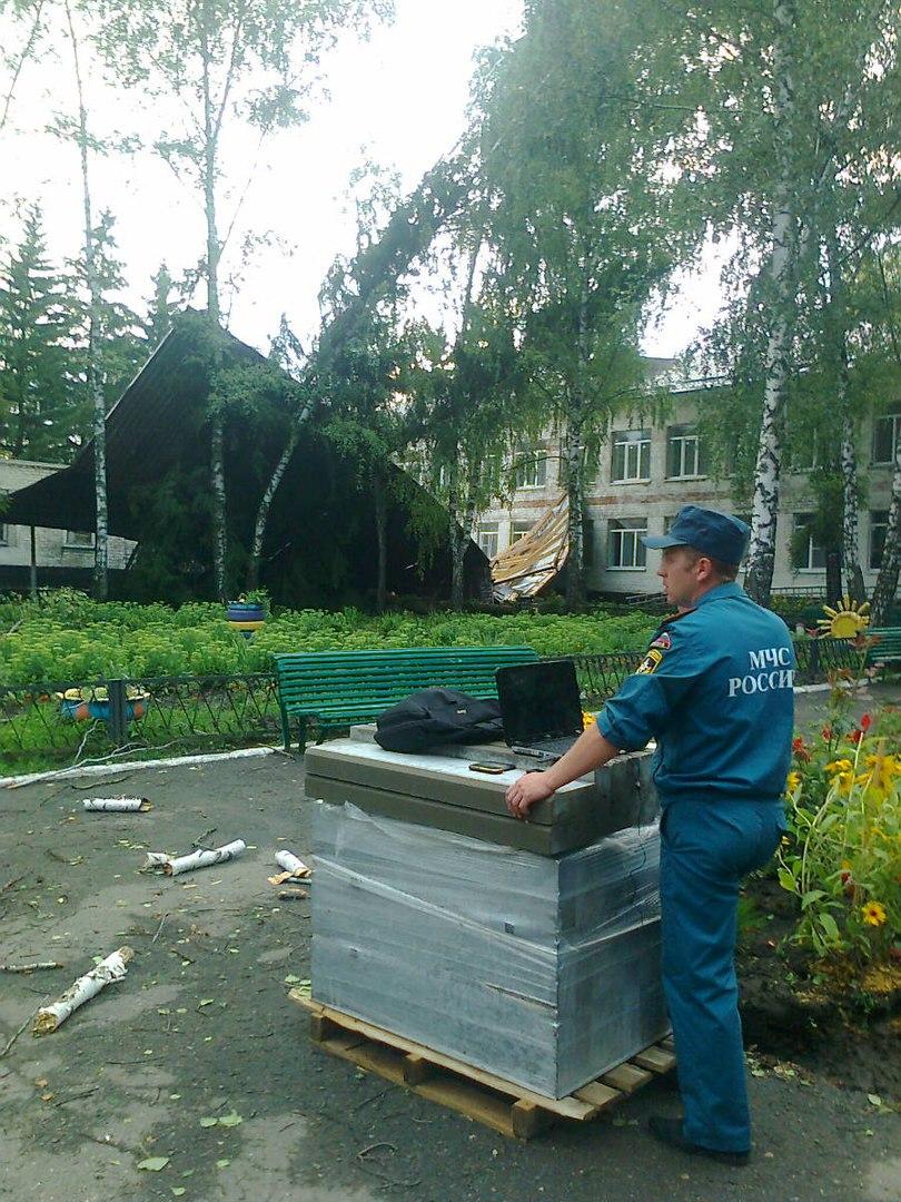В Курской области детдом лишился крыши