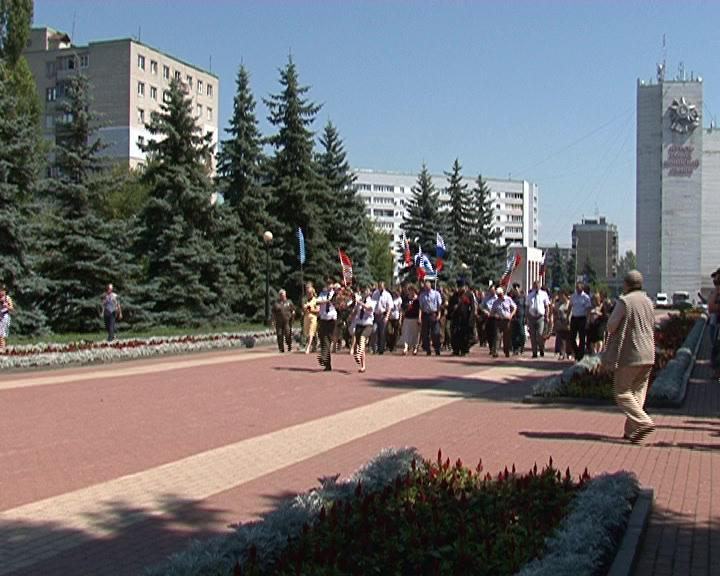 В Курске Официально стартовала Вахта памяти.