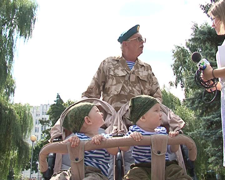 Как отметили день ВДВ Курские десантники