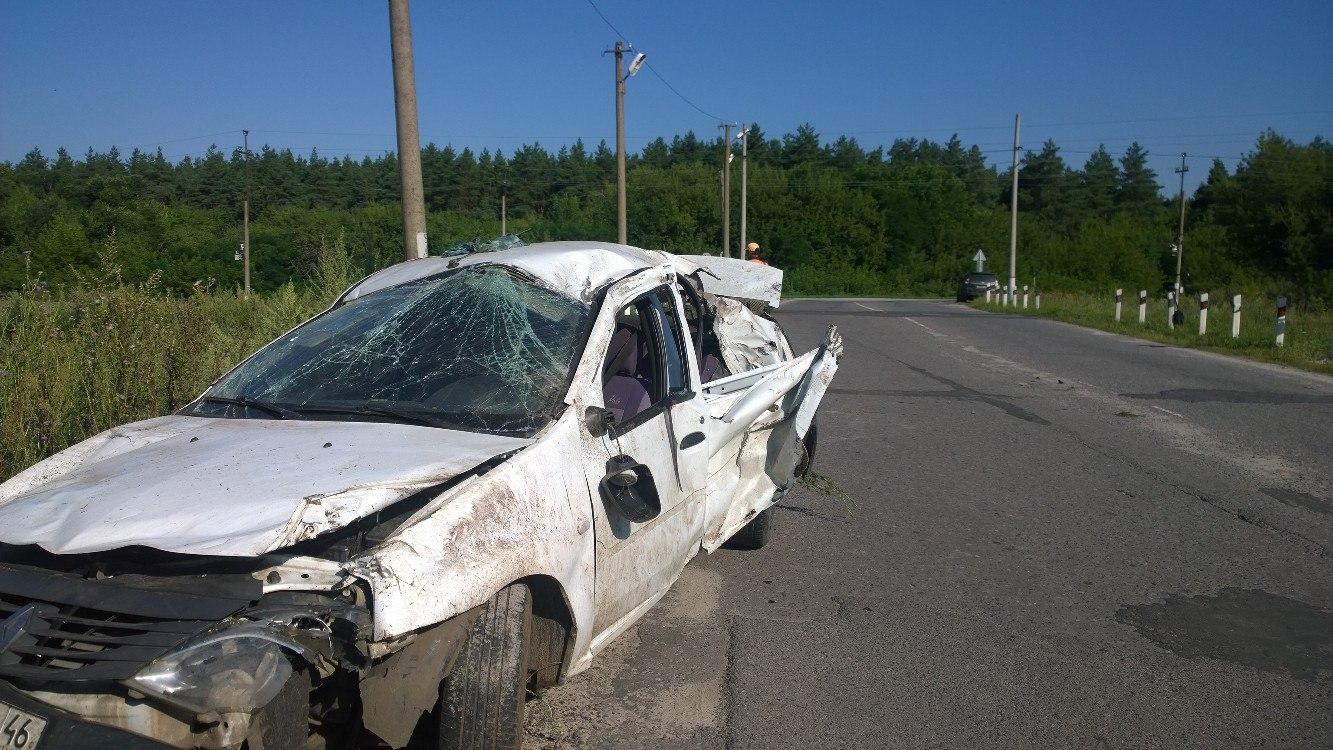 Рано утром 1 августа произошло страшное ДТП в Курчатовском районе.