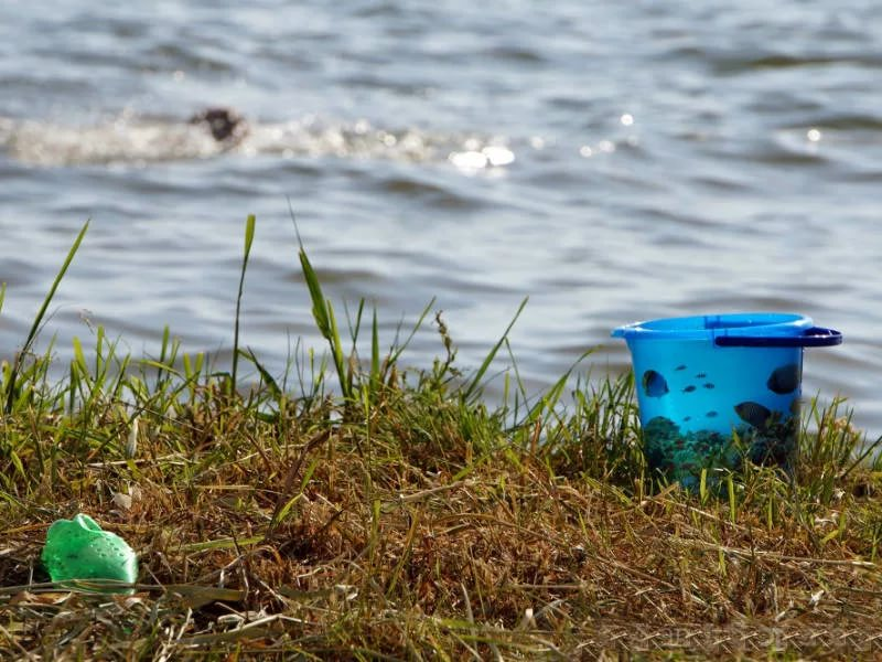В Курской области в пруду утонул ребенок