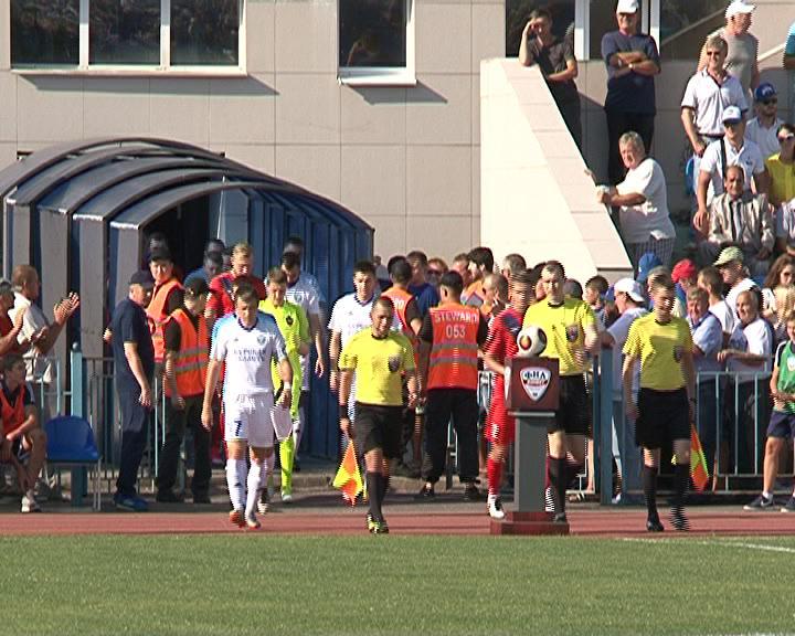 Курский «Авангард» впервые в сезоне проигрывает на домашнем стадионе.
