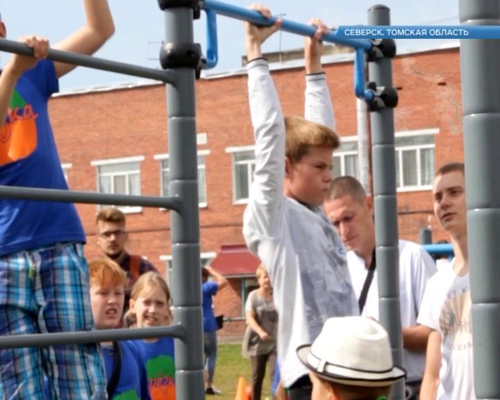 Молодежное движение Стрит Воркаут набирает популярность в городах присутствия госкорпорации Росатом.