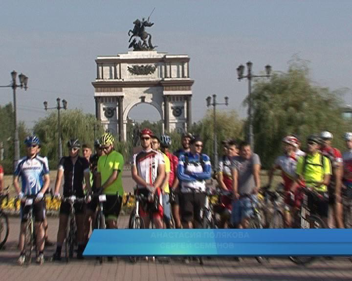 В субботу в Курске стартовал масштабный велопробег.