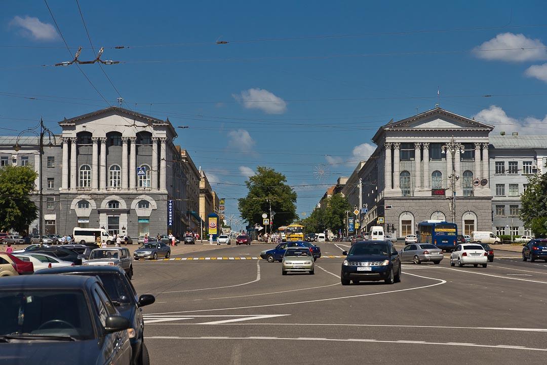 В центре Курске ограничат стоянку